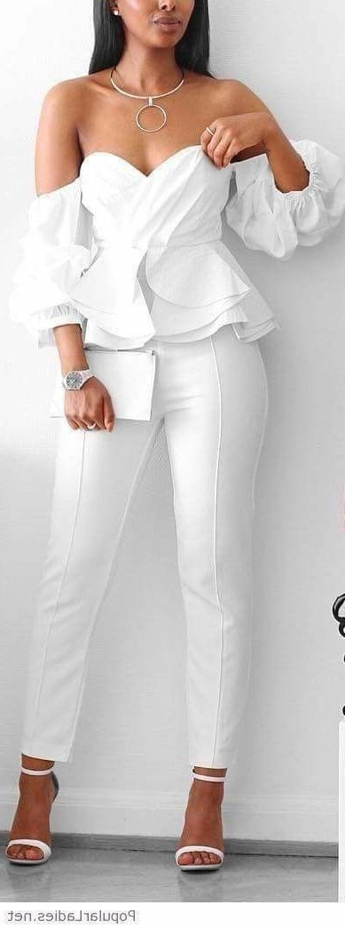 All White Party Outfit Ideas For Women 2019