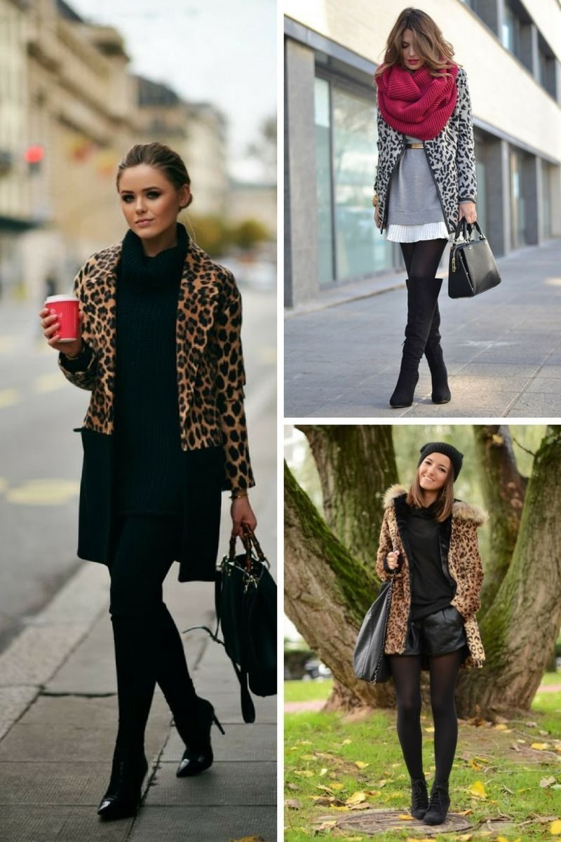 Cool Ways To Wear Animal Print Coats 2019