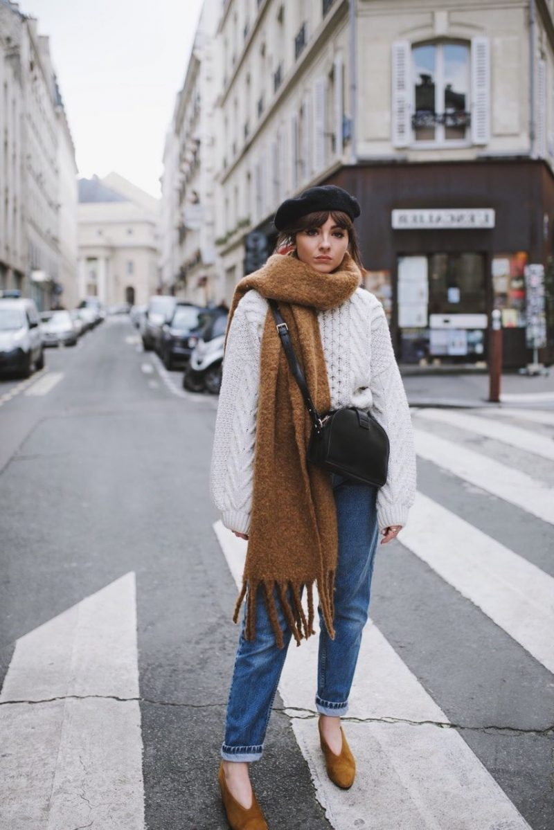 How To Style Oversized Scarves For Women: Trend Is Back 2019