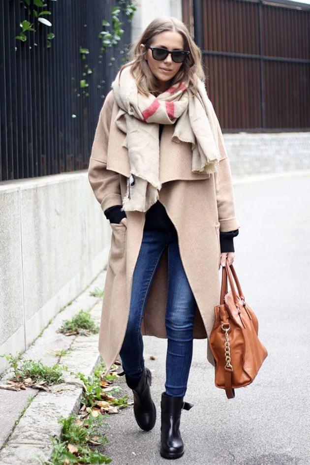 How To Style Oversized Scarves For Women: Trend Is Back 2021
