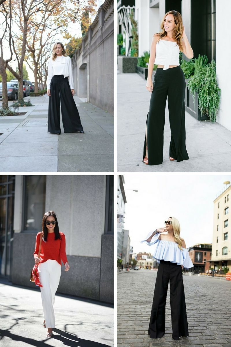 Wide Leg Pants Complete Style Guide For Women 2019