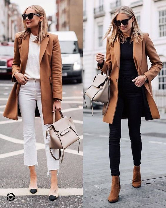 31 Ways How To Wear Camel Coats For Women 2020