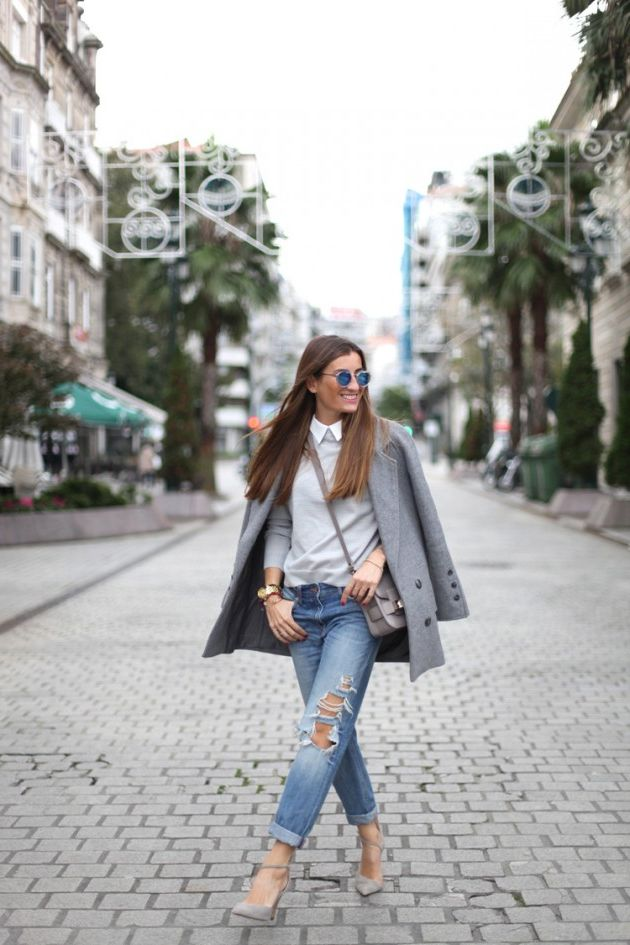 33 Grey Coats For Women: Best Outfits To Try This Fall 2019