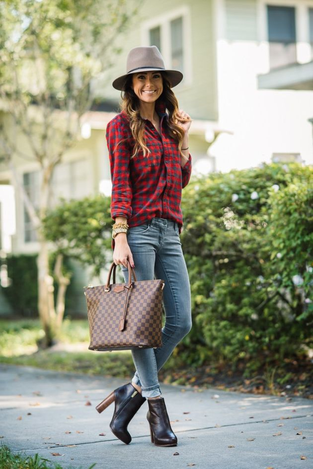 How To Wear Plaid Shirts For Women 2019