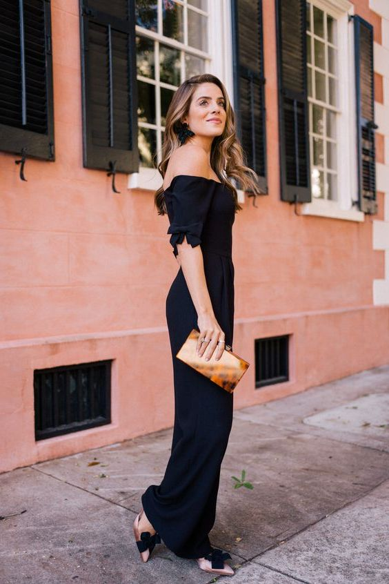 How To Wear Black Jumpsuits 2021
