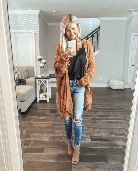 23 Ways How To Wear Oversized Cardigans And Still Look Amazing 2020