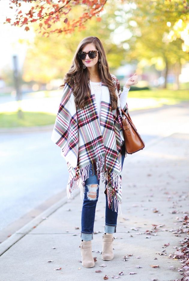 80 + Plaid Print Outfit Ideas For Women 2020