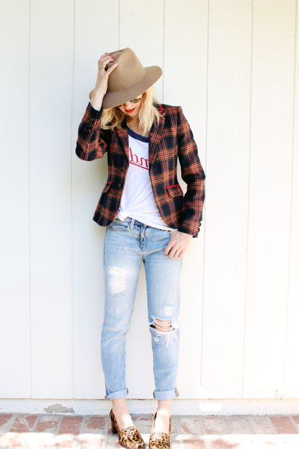 80 + Plaid Print Outfit Ideas For Women 2019