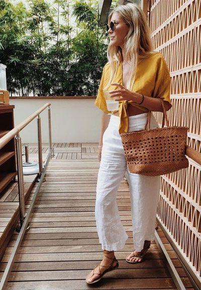 White Pants For Women Best Summer Looks 2019