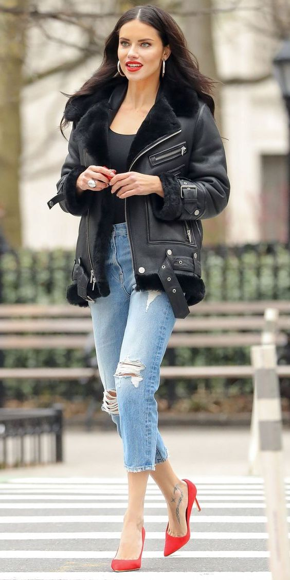 How To Style Shearling Jackets Are Must-Haves For Fall 2021