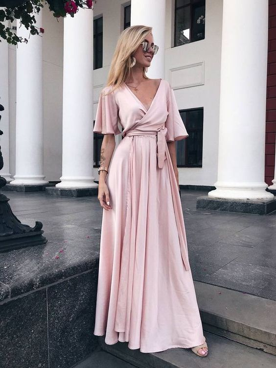 What Shoes To Wear With Pink Dress 38 Inspiring Looks 2021