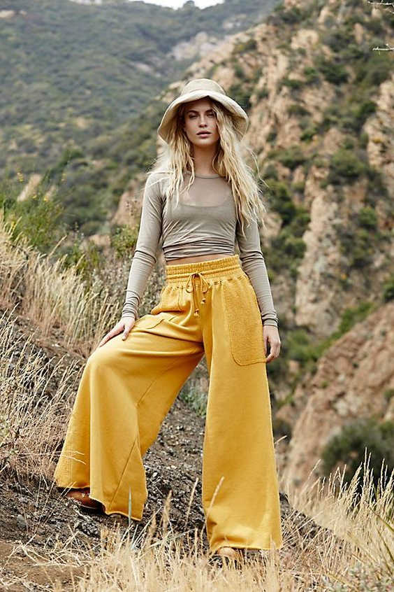 Wide Leg Pants Complete Style Guide For Women 2020