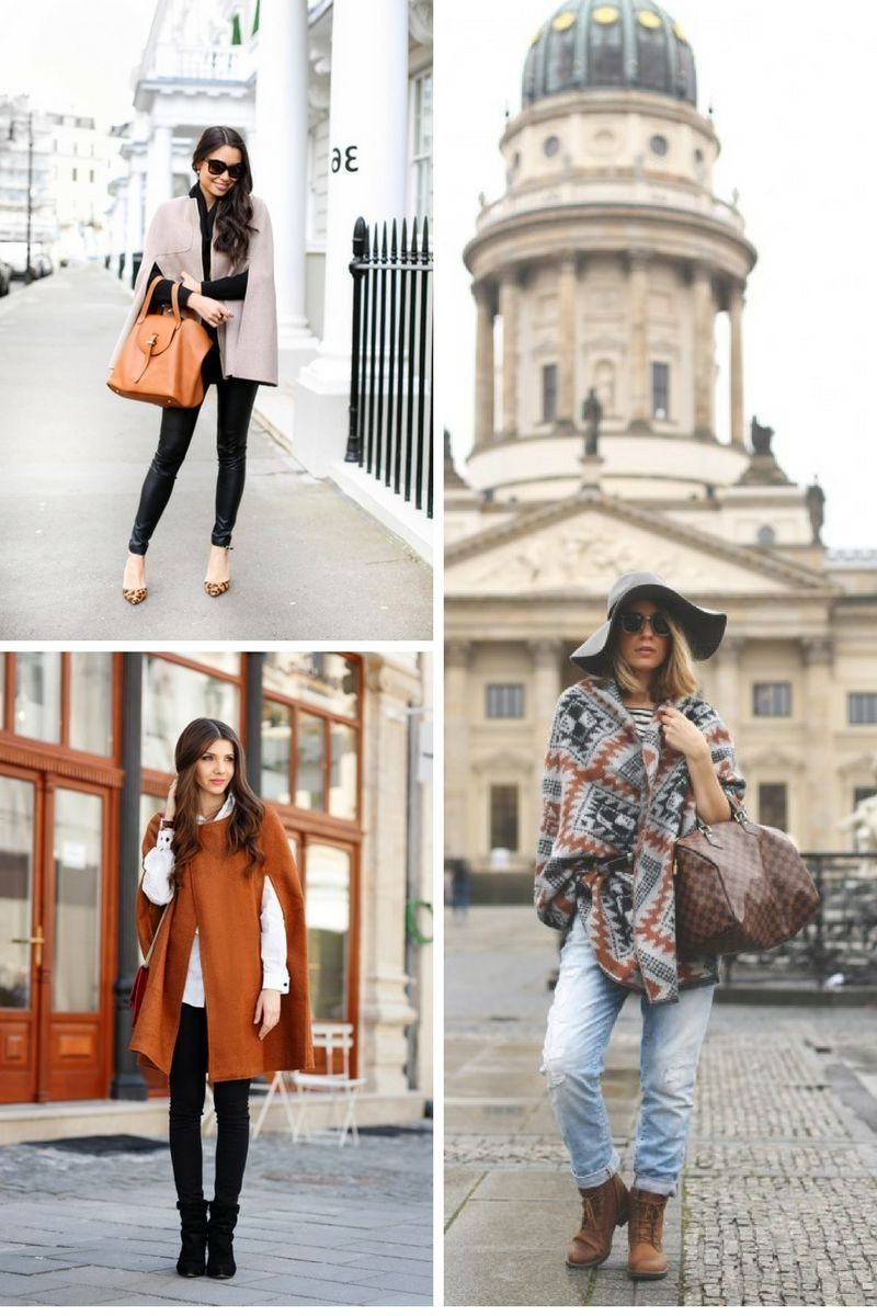 Capes For Women: Street Style Update 2019