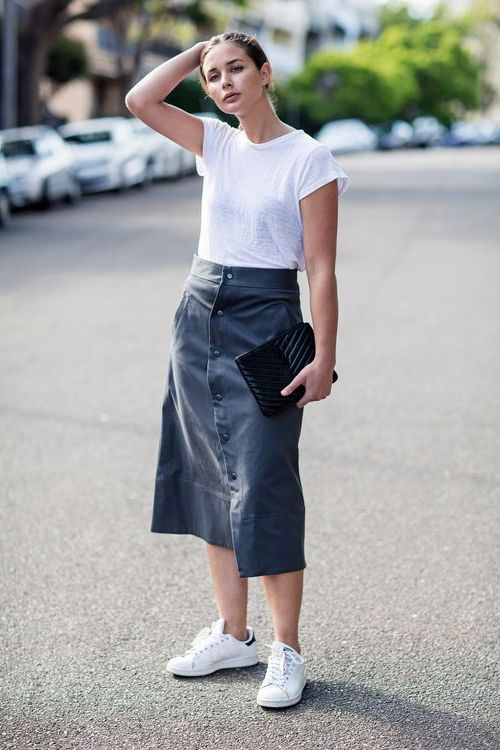 Button Front Skirts That Are Cool To Try Now 2019