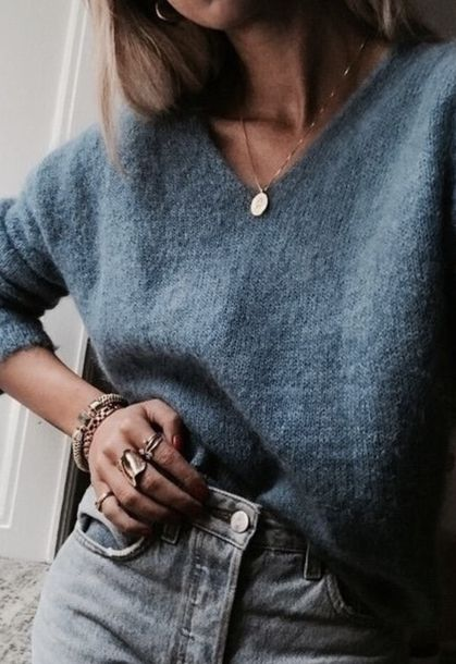 How To Wear Necklaces With Sweaters 2019