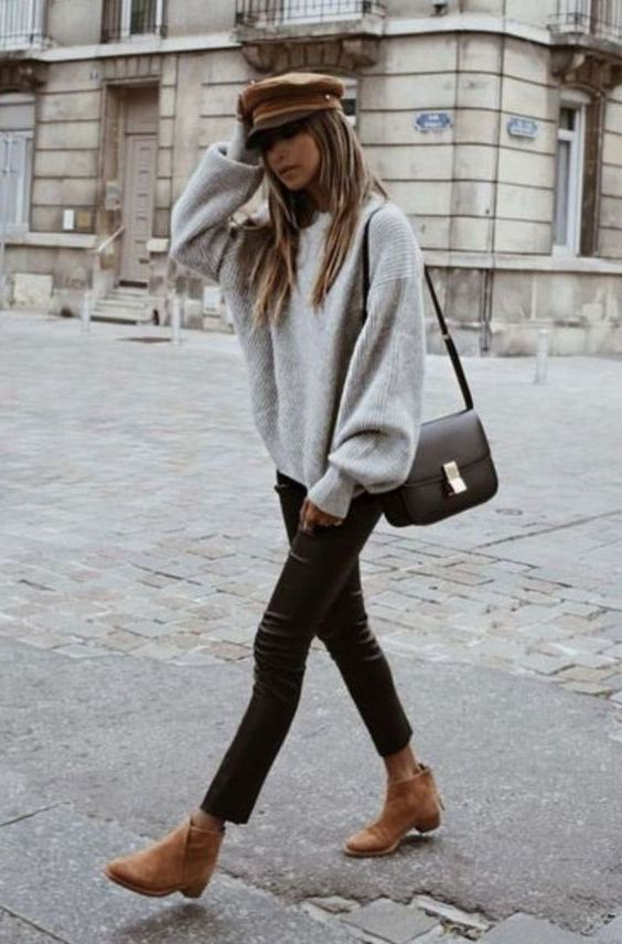 Oversized Sweaters For Women: Trendy Knitwear 2019
