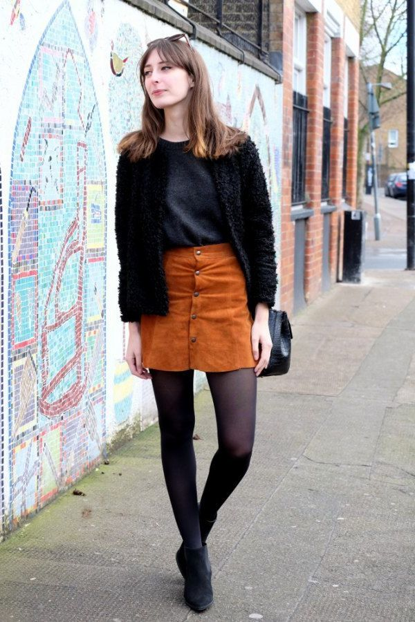 Suede Skirts Best Looks To Copy 2020