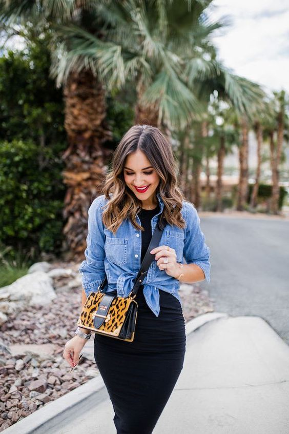 How To Wear Chambray Shirts For Ladies 2021