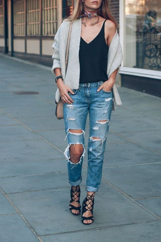 How To Wear Extremely Ripped Jeans For Women 2019