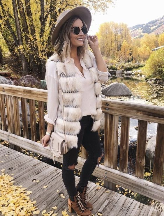 Fur Vests For Fall: Best Tips And Tricks To Wear Right Now 2019