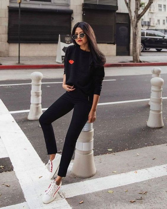 How To Wear Black Skinny Jeans For Fall 2019
