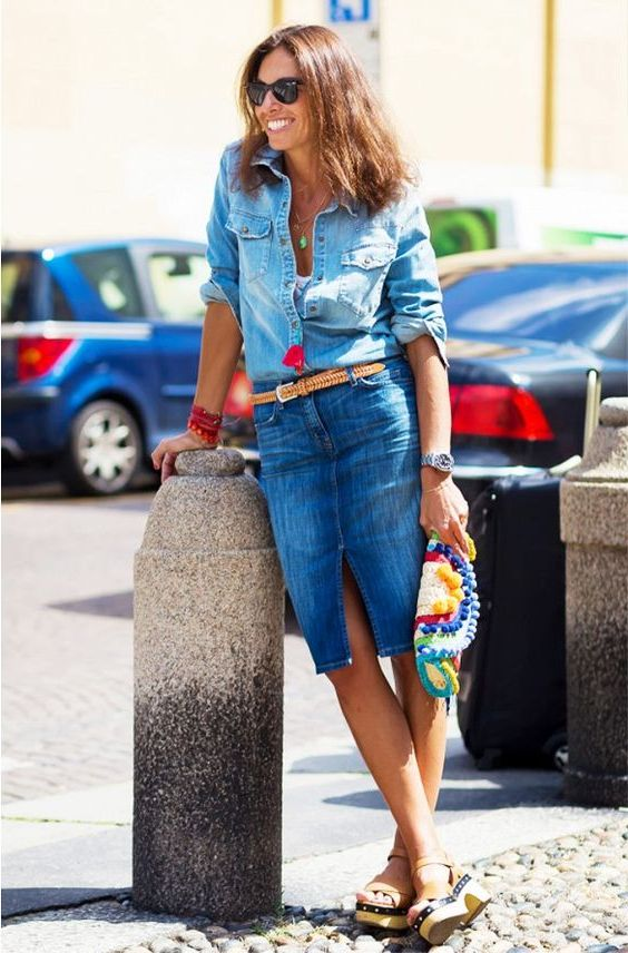 How To Wear Sandals With Denim 2021
