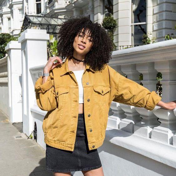 Best Oversized Denim Jacket Outfit Ideas 2021