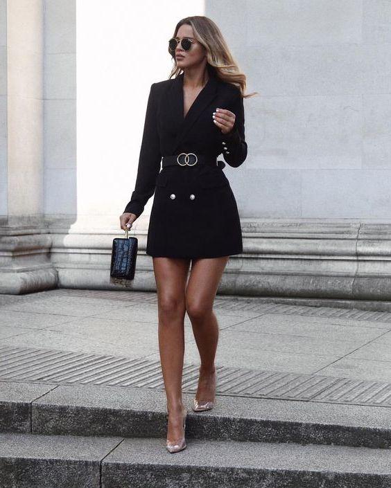 Tuxedo Dresses For Self Confident Women 2021