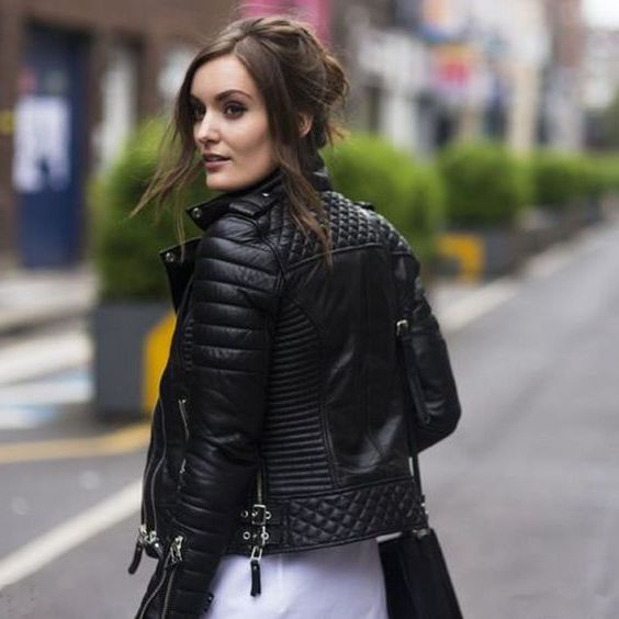 Black Leather Jackets For Women That Look Insanely Hot 2020