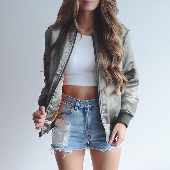 How To Wear Bomber Jackets For Women 2019