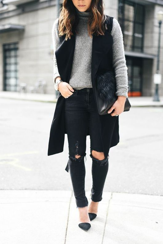 How To Rock Sleeveless Coats: Street Style Compilation 2020