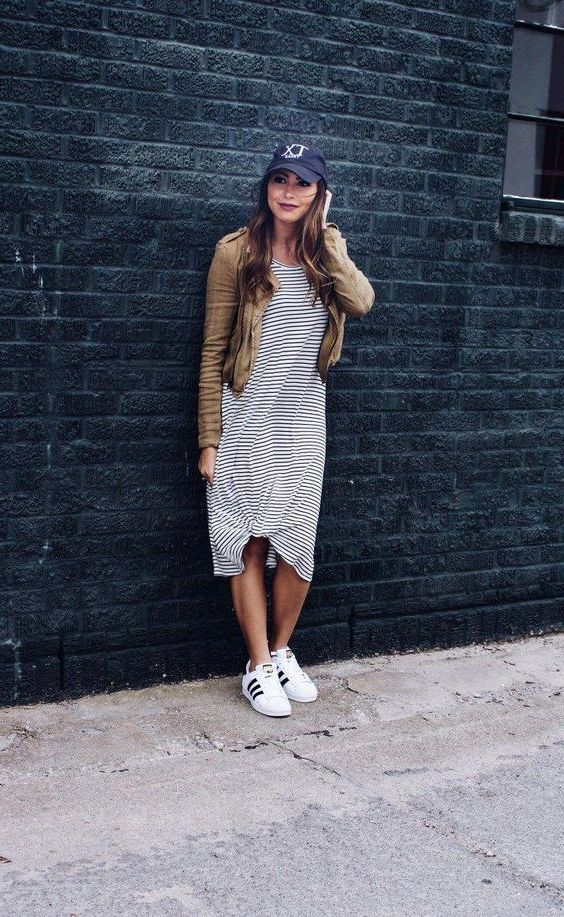 Best Ways To Wear Striped Dresses: Full Guide With Pictures 2019