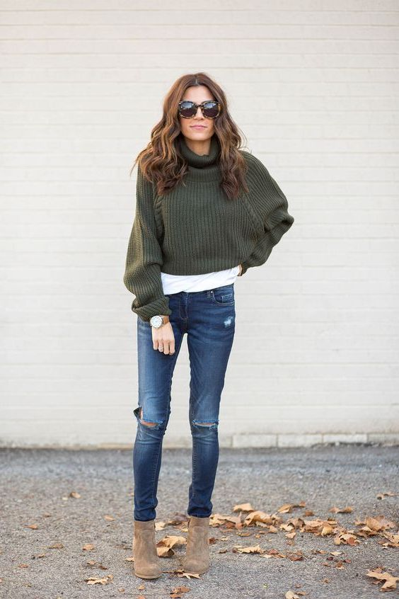 Best Ways To Wear Crop Sweaters: Winter Awesome Tips And Tricks 2019