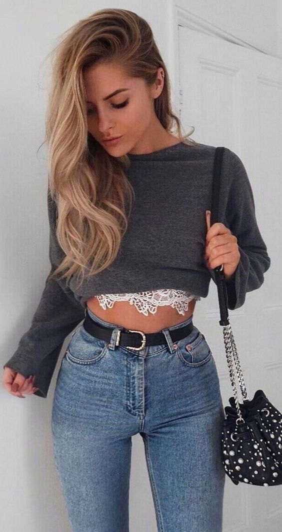Best Ways To Wear Crop Sweaters: Winter Awesome Tips And Tricks 2020