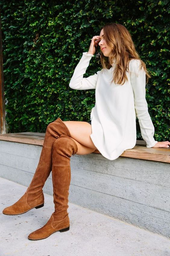How To Style Flat Boots: Improved Street Style Ideas 2019