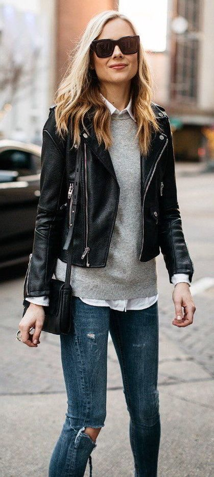 How To Wear Leather Jackets 2019