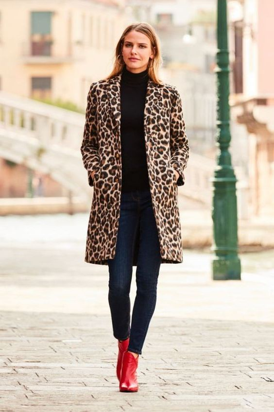 Leopard Coats For Ladies: Wild Outerwear For Winter 2020