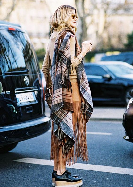 Cozy Oversized Scarves For Winter 2020