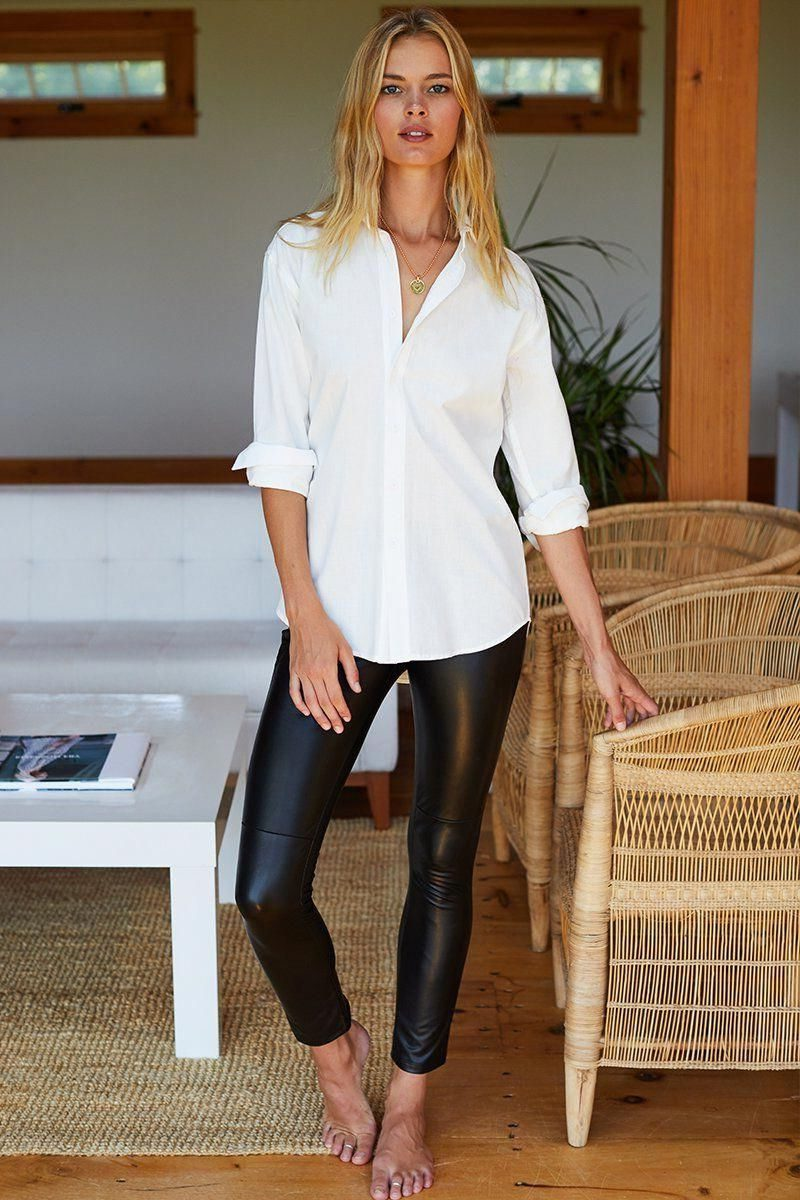 18 Faux Leather Leggings Tested Outfit Ideas 2019