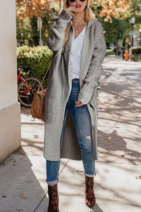 32 Wanted Looks With Long Cardigans For Women 2020