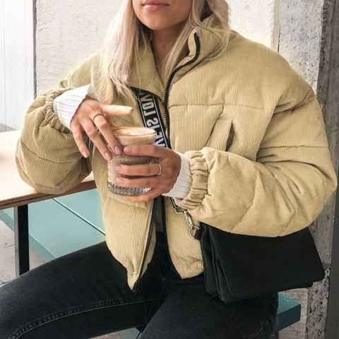 Short Puffer Jackets To Make You Look Trendy 2021