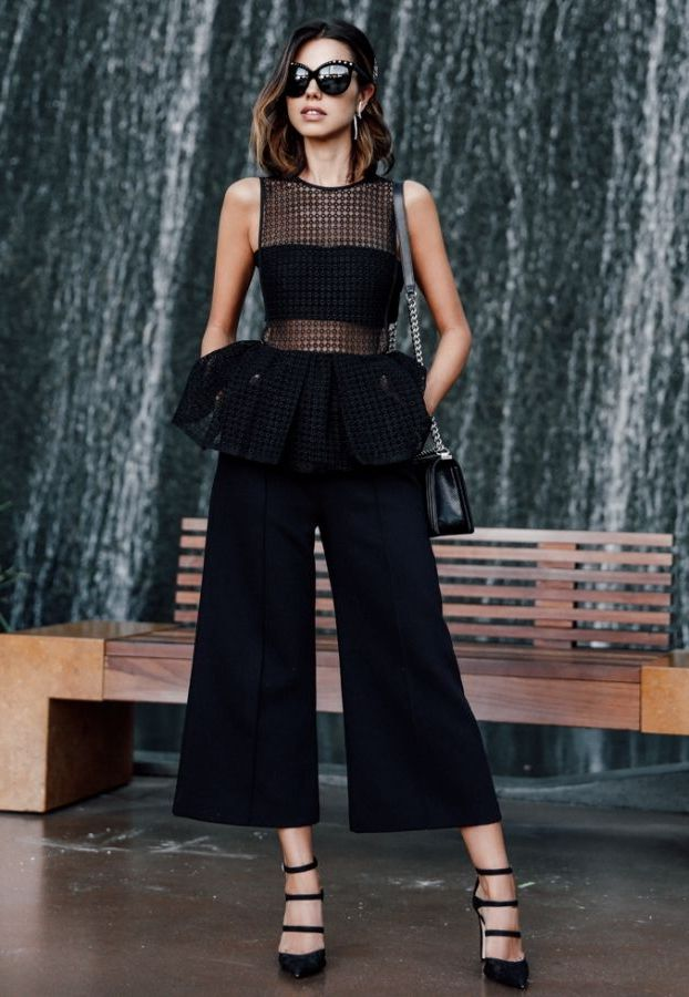 What To Wear With Peplum Tops 2020