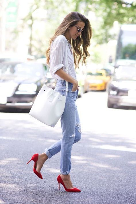 How To Wear Red Heels For Women: Simple Tips 2020