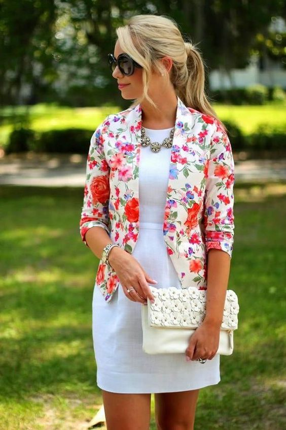 Floral Blazers For Summer: Best Combos And Ideas 2020