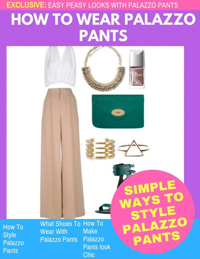 Can I wear Palazzo Pants: One Big Guide For Women 2021