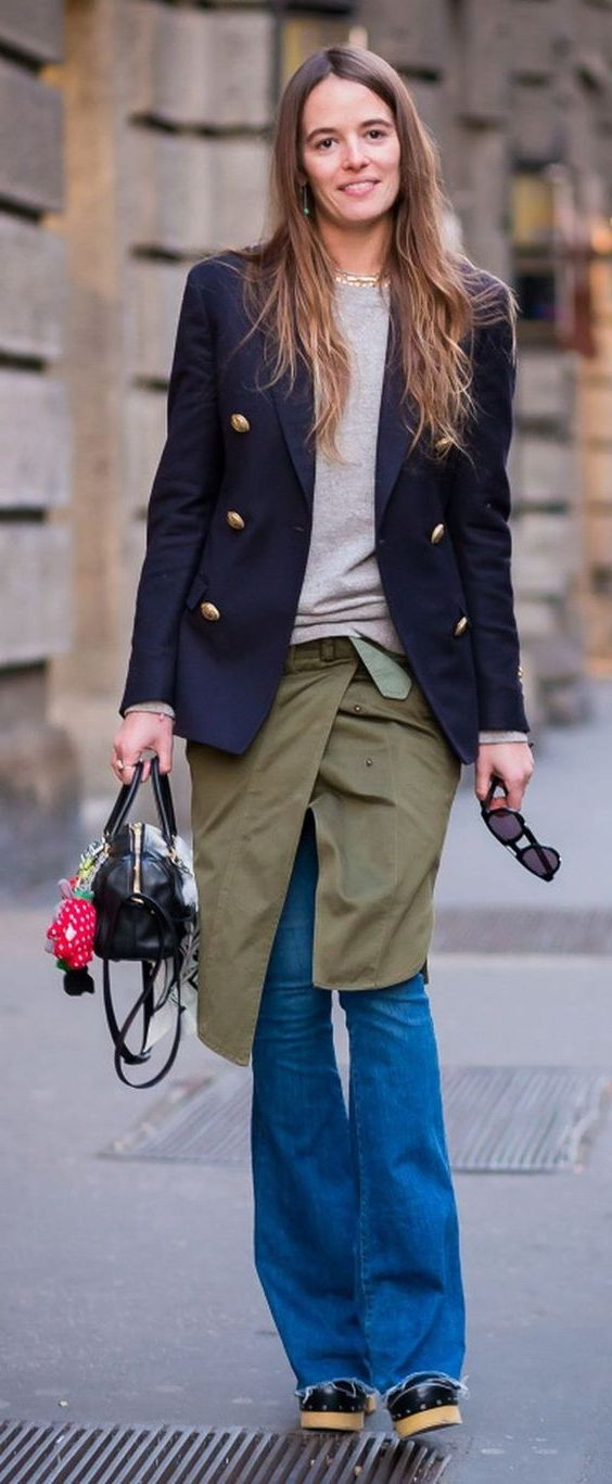 How To: Military Fashion Trend For Women 2021