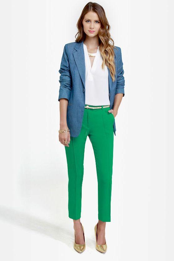 Best Ways To Wear Cropped Pants For Women 2020