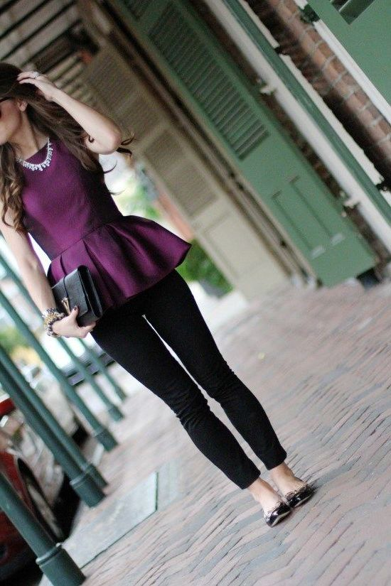 Best Colors And Prints For Peplum Tops 2021