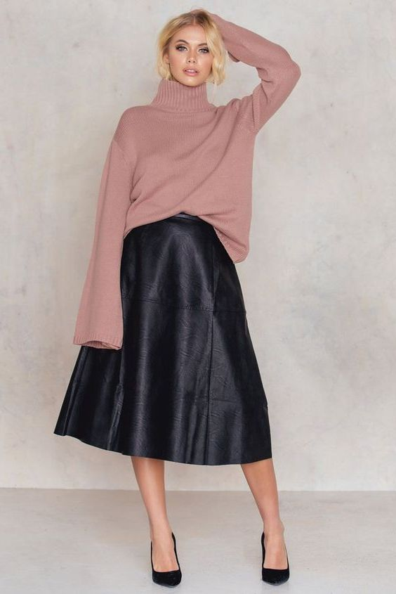 What Leather Skirts Are In Trend Right Now 2020