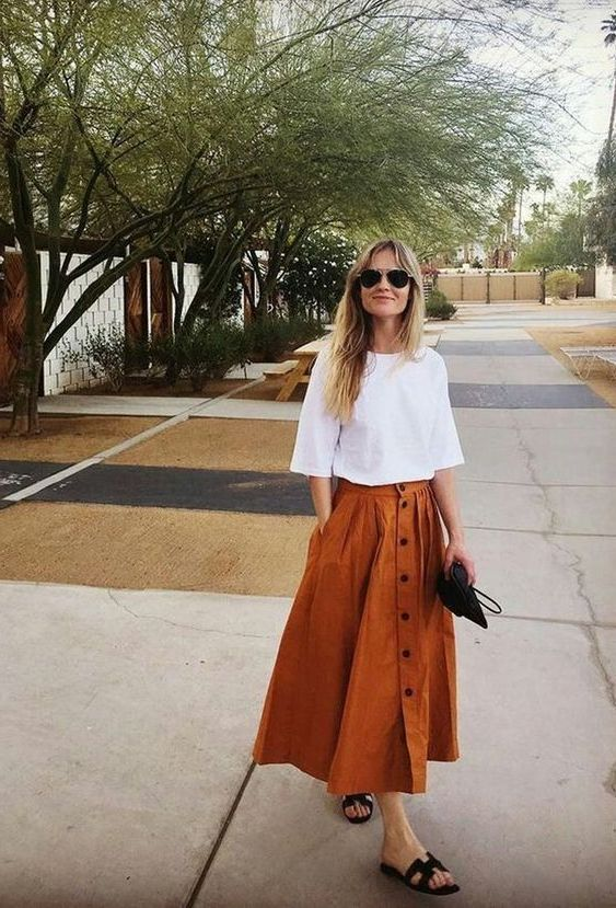Midi Skirts For Women: Complete Guide 2021